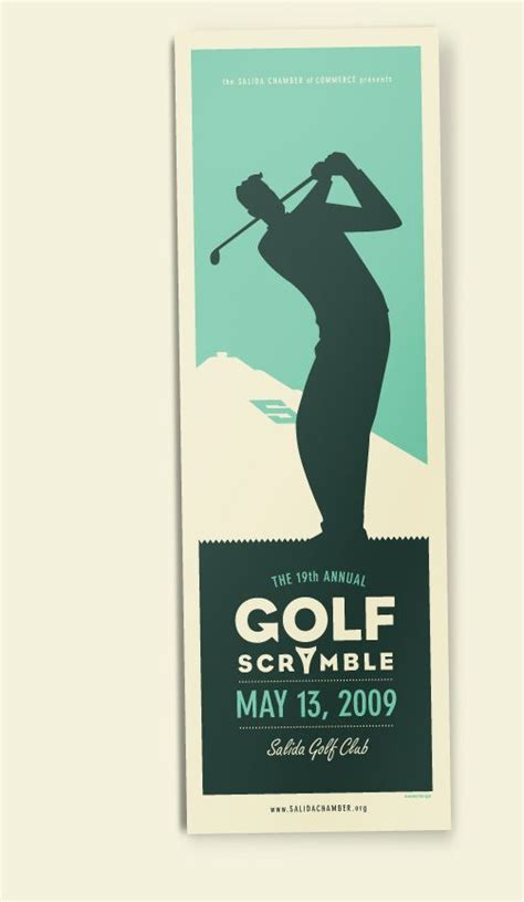 pin  jessica martin  golf tournament golf invitation