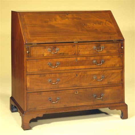 Esl Desk by Slant Front Antique Desk