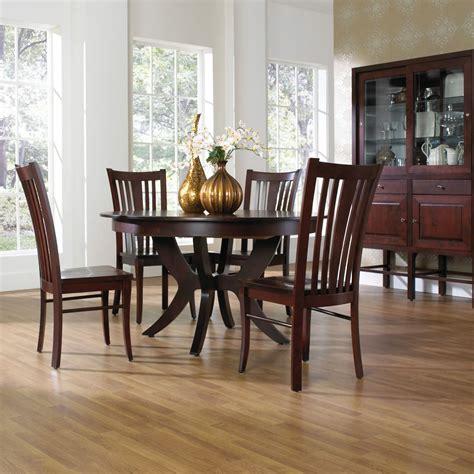 formal slatback set furniture solid wood dining
