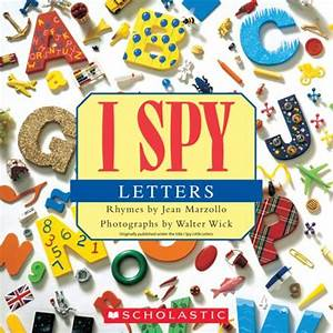 Book review i spy letters from scholastic for I spy letters book