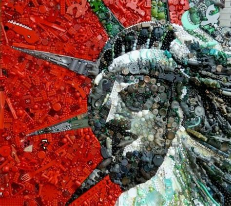 contemporary art  recycled materials  jane perkins