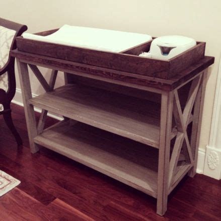 how to make a changing table build your own changing table baby stuff pinterest