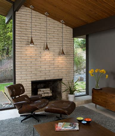 mid century modern fireplaces atomic age twenty first century retro
