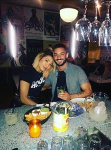 Karen Clifton shares cosy 'date night' photo following ...