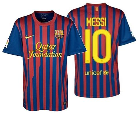 Nike Lionel Messi Fc Barcelona Youth Home Jersey 201112