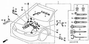 Engine Wire Harness For 2001 Honda Accord Sedan