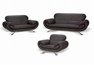Sofa Kunstleder Schwarz : brix 2 sitzer sofa couch kunstleder schwarz ~ Orissabook.com Haus und Dekorationen