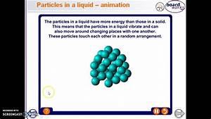 Particles In A Liquid Animation