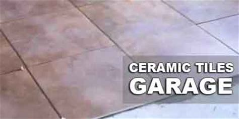Can Ceramic Tile be Used for Garage Floors