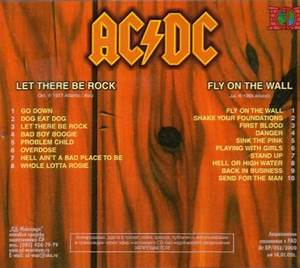 ac dc let there be rock fly on the wall