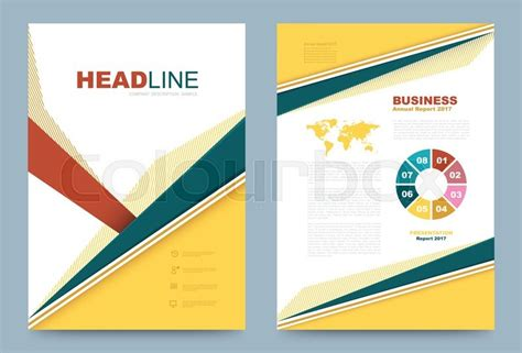 Printing Press Brochure Template by Vector Cover Design Template Simply And Style Can