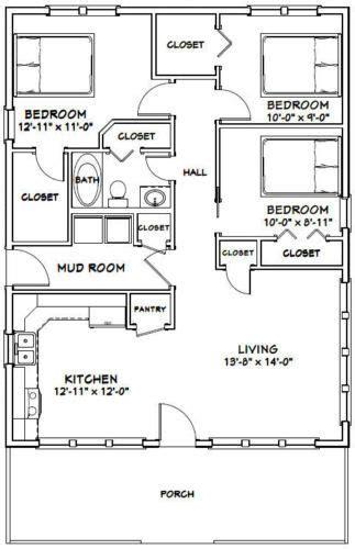 house  bedroom  bath   sq ft  floor plan model  house plans bedroom house