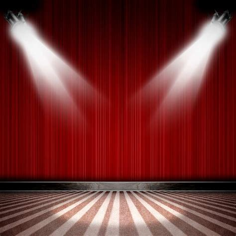 Background Images by 10x10ft Curtain Drape Spotlight Stage Stripes