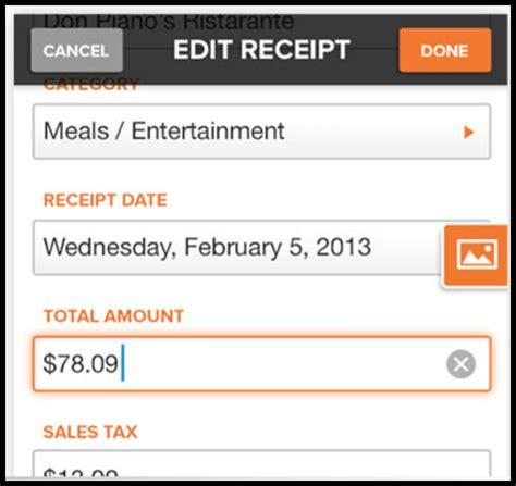 receipt scanner app  neat  shoeboxed  genius