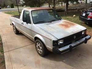 Vw Caddy Diesel : purchase new 1981 vw volkswagen rabbit pickup truck caddy ~ Kayakingforconservation.com Haus und Dekorationen