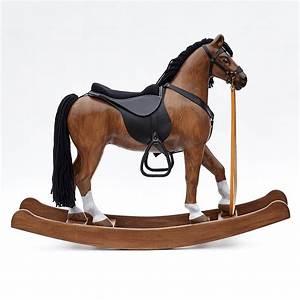 Cheval A Bascule : grand cheval bascule en bois massif ~ Teatrodelosmanantiales.com Idées de Décoration
