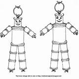 Dolls Wooden Spool Very Coloring Suspicious String These Doll Spools Folk Nursery sketch template