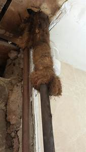 Hot Water Pipe Lagging  Asbestos