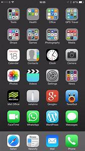 My iPhone 6 Plus Home Screen layout design and why it's ...