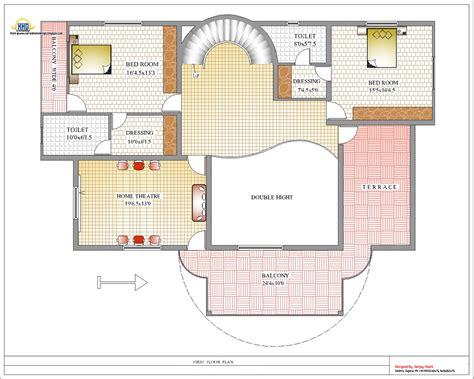 designer bathroom duplex house plan and elevation 4217 sq ft home