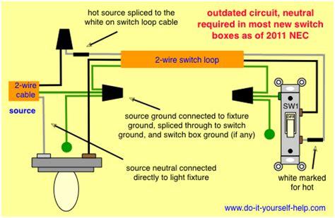 Switch Loop Wiring Diagram Wind Turbine Light
