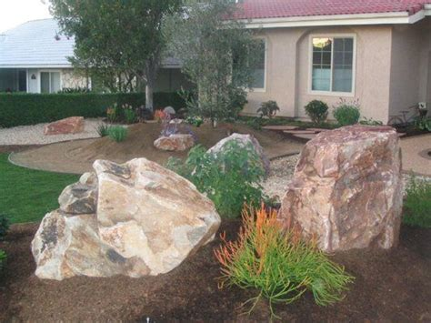 using boulders in landscaping boulder in landscaping landscape boulders landscape ideas pinterest rocks landscaping