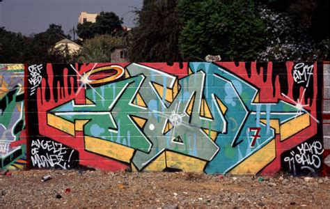 Graffiti Old School Style : Street-art And Graffiti