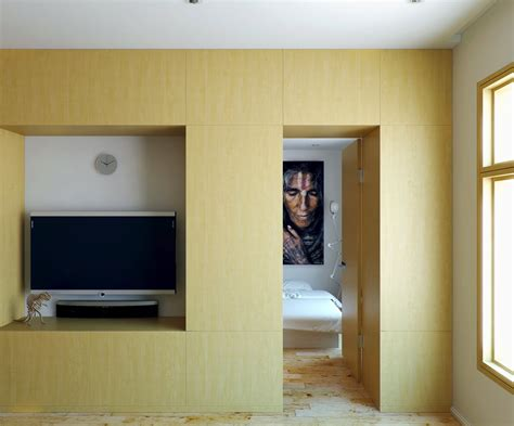 Small Apartment With Foldaway Features by Small Apartment With Foldaway Features