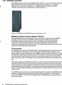 The Ibm Totalstorage Ds8000 Series Concepts And