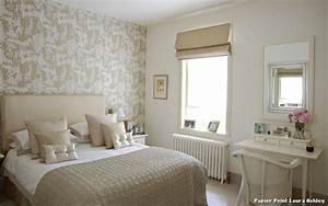 Papier peint laura ashley with moderne chambre denfant for Papier peint romantique chambre