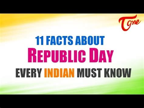 Facts About Republic Day Every Indian Must Know