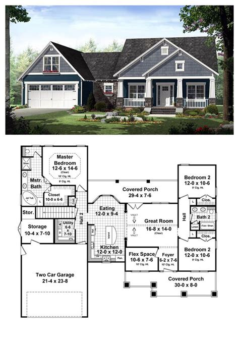 country craftsman house plans country house plan 55603 total living area 1637 sq ft