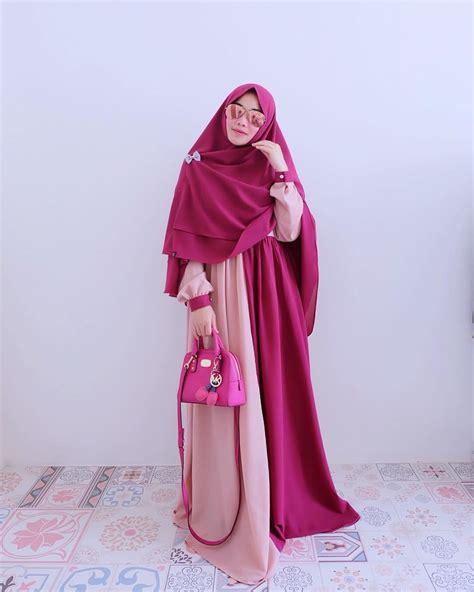baju muslim wanita gamis 17 trend baju muslim terbaru 2017 yang akan populer