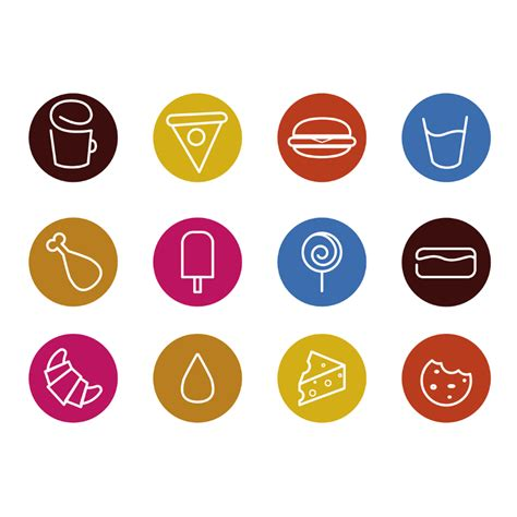 template of a resume free sketched food icons icons fribly 25063 | Free Sketched Food Icons