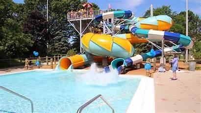 Cool Waters Waterpark Water Slide Milwaukee