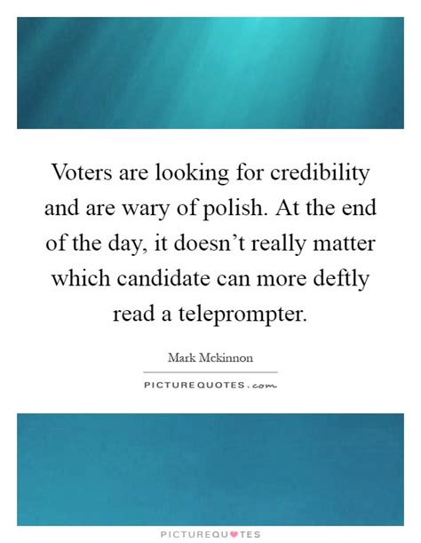 voters    credibility   wary  polish