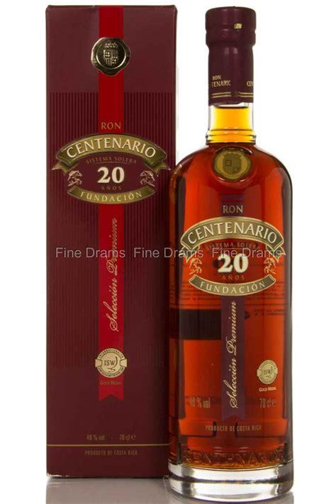 ron centenario fundacion xx  year  solera rum