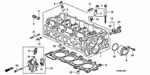 Cylinder Head For 2008 Honda Fit 5