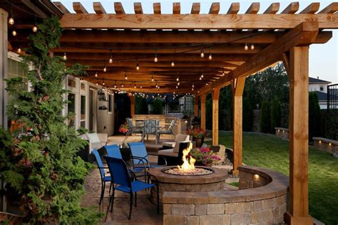 tuscan style patio decorating patio farmhouse with exposed