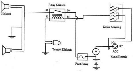 Wiring Diagram Relay Lampu Mobil