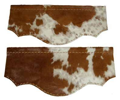 Cowhide Valance by Cowhide Valance Western Window Valance