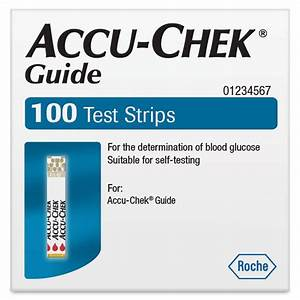 Buy Accu Chek Guide Test Strips 100 Online At Chemist