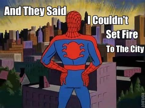 Spiderman Cartoon Meme - spiderman meme by scraftymatt on deviantart