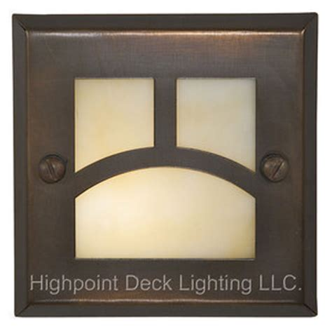 Home Depot Recessed Deck Lighting by Highpoint Moab Step Light