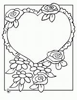 Coloring Flowers Pages Bouquet Flower Heart Mom Colouring Roses Preschool Activities Bridal Popular Coloringhome Bride sketch template