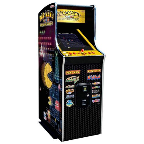 Namco Pac Man 39 39 S Arcade Party Video Game Cabaret Cabinet