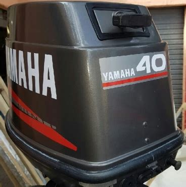 Yamaha Outboard Motor Decals For Sale by Graphics Decals Sticker Set For A Yamaha 40 Hp Outboard