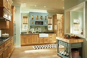 cocinas pintadas con los colores de moda 50 ideas With kitchen colors with white cabinets with old fashioned sticker