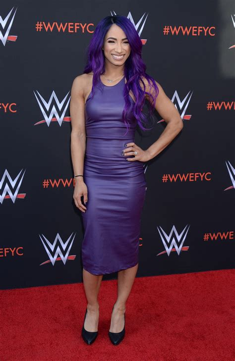 (as of february 26, 2019). Sasha Banks - WWE's First-Ever Emmy FYC Event in North Hollywood 06/06/2018 • CelebMafia