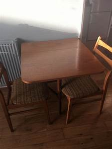 Fold, Out, Dining, Table, And, 4, Chairs